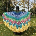 Fashion Peacock Butterfly Wings Shawl Fairy Pixie Costume Festival Accessory