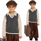 BOYS FANCY DRESS COSTUME 1940s BOY VE DAY SCHOOL CHILDS WARTIME OUTFIT KIDS NEW