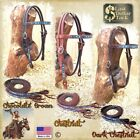 WESTERN BREAST COLLAR ~ FINEST QUALITY WICKET & CRAIG FLORAL TOOLED LEATHER
