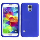 LOT Silicone Soft Slim Rubber Protector Case Cover for Samsung Galaxy S5 GS5