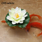 1PCS 10CM Real Touch Artificial Foam Lotus Flower for Pool Garden Decoration