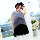 Women New Style 100% Real Ostrich Feather Fur Waistcoat Vest Jacket 2017 Elegant