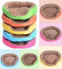 New Cozy Soft Warm Fleece Pet Dog Puppy Cat Bed House Nest with Plush Mat Pad