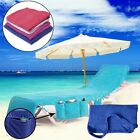 Beach Towels Sun Lounge Chair Cover With Tote Bag Large Pocket Poolside Garden