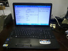 Toshiba Satellite C655D-S5209 AMD E-350 1.60GHz 3GB Ram No HDD Black Laptop