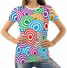 Color Circles Womens T-Shirt Tee wb1 acr43260