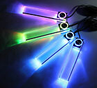 Colorful LED Car Interior Kit Glow Under Dash Foot Well Seats Inside Lighting UK