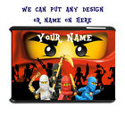 I Pad Mini 2 3 4 Air Case Personalised Custom Unofficial Lego Ninjago Gift  Idea