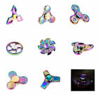 Rainbow Tri-Fidget Hand Finger Spinner ADHD Focus Toy For Adults Kids Autism