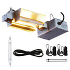 DE 1000W Grow Light Fixture Kit 120/240V for Hydroponic Plant Growing ETL Listed