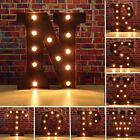 12'' Marquee N To Z Alphabet Letter Lights LED Light Up Sign Standing / Hanging