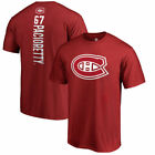 Montreal Canadiens Fanatics Branded Fb Men's Backer Ss N&N T-Shirt