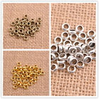 Tibetan Silver/Gold Rings Spacer Beads Jewelry Findings 6x2MM C3142