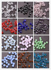 Wholesale 4MM/6MM/8MM Cube Square Faceted Rondelle Crystal Glass Spacer Beads