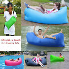 Portable Outdoor Lazy Inflatable Couch Air Sleeping Sofa Lounger Bag Camping Bed