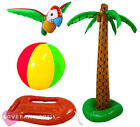 4 PIECE SUMMER INFLATABLES KIT BEACH PARTY FESTIVAL DECORATION HAWAIIAN LUAU