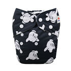 ALVA Baby Reusable Nappies One Size Washable Pocket Cloth Diaper Best Nappies