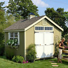 10x12 wooden shed - Colonial Williamsburg Precut 10 ft. W x 10 ft. D Wooden Storage Shed