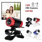 USB 2.0 1080P HD WebCam Web Camera Video with Mic 360°for M