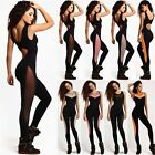 Women One Piece Yoga Gym Fitness Tight Jumpsuits Workout Sleeveless Slim Suit