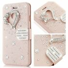 iphone 7 / 7p case , Bling Jewellery Crystal Rhinestone Flip PU Leather 3D Love
