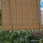 Window Shade Bamboo Roll Up Blind Rustic Natural Roman Outdoor Indoor Curtain