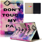 Flip Leather Wallet Smart Stand Case Cover For Amazon Kindle Paperwhite 1 2 3