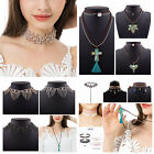New Charm Jewelry Multilayer Choker Chunky Statement Bib Pendant Chain Necklace