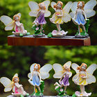 Flower Fairy Miniature Dollhouse Garden micro DIY Figurine Beauty Decoration