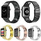 Replace Stainless Steel Wrist Bracelet Clasp for Apple Watch iWatch Band 42 38mm