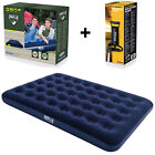Double Single Flocked Camping Airbed Inflatable Mattress Blow - Best Reviews Guide