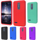 For ZTE Blade X Max Rugged Rubber SILICONE Soft Gel Skin Case Cover Accessory