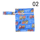 Baby Infant Waterproof Reusable Zip Wet Dry Bag Diaper Nappy Pouch Pocket Bag fm