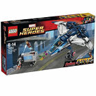 New SEALED LEGO Super Heroes The Quinjet City Chase (76032)