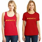 BAE Watch T Shirt Tank Top BayWatch Movie Womens Red Size Small to 3XL Free Ship