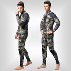 3mm Neoprene Men Wetsuit Full Suit Dive Scuba Surfing Size Small to 3X Plus