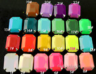 30p 10x14mm octagon color sew on faceted Acrylic crystal rhinestone jewels craft
