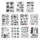 Transparent Clear Stamp DIY Silicone Seals Scrapbooking Card Decor Gifts