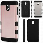 For Alcatel Fierce 4 Hard Gel Rubber KICKSTAND Case Phone Protector Cover