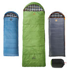 GRAND CANYON Deckenschlafsack Utah - Baumwolle Flanell Camping Schlafsack -20°C
