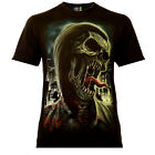 Screaming Zombie - Rock Eagle T-Shirt Glow in the Dark Horror Nightmare Blood
