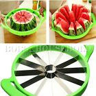 Watermelon Cutter Cantaloupe Melon Stainless Steel Slicer Kitchen Fruit Tool S/L