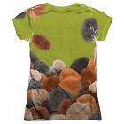 Star Trek Tribble Trek (Front Back Print) Juniors Sublimation Shirt White