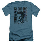 Star Trek Khan Yell Mens Slim Fit Shirt