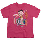 Betty Boop Wet Your Whistle Big Boys Youth Shirt $17.95 USD