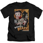 Betty Boop Boyfriend The Beast Little Boys Juvy Shirt $16.95 USD