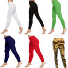 Ladies Women Full Length Cotton Leggings New Style Stretchy Legging Sexy Look
