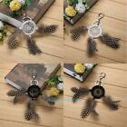 Metal Bohemia Dream Catcher Feathers Keyring Keychain Key Ring Pendant Gifts