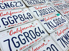 California License Plate - Craft Grade - Pick Your Plate