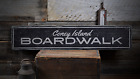 Coney Island Boardwalk, Custom for - Rustic Distressed Wood Sign ENS1001826